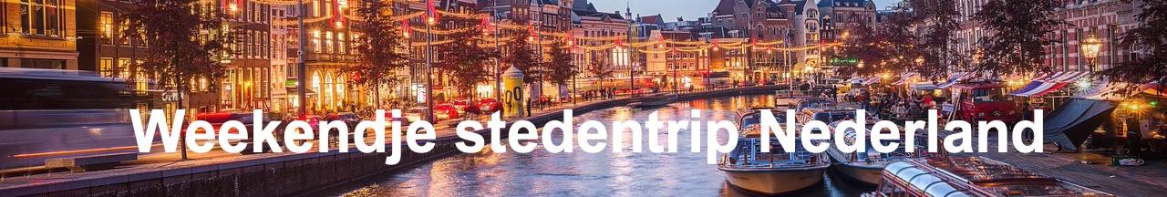 Weekendje Nederland